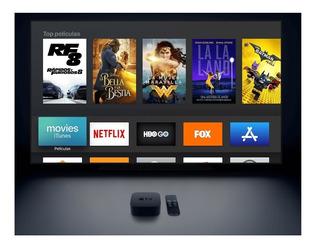 Convertidor Smart Tv Apple Tv Con Siri Remote 4ta Generacion