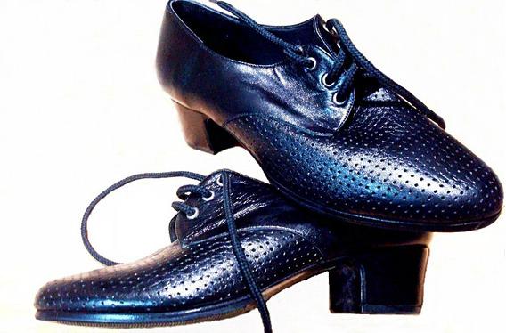 Zapatos Oxford Vestir Dama Oficina Nuevos Nº 36