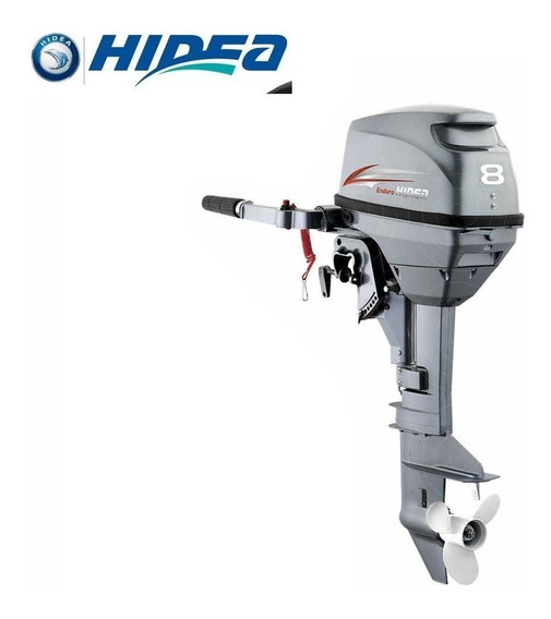 Motor Popa Hidea 8hp 2 Tempos 0km - Garantia De 3 Anos