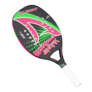 Raquete De Beach Tennis Shark On Court Original + Nf