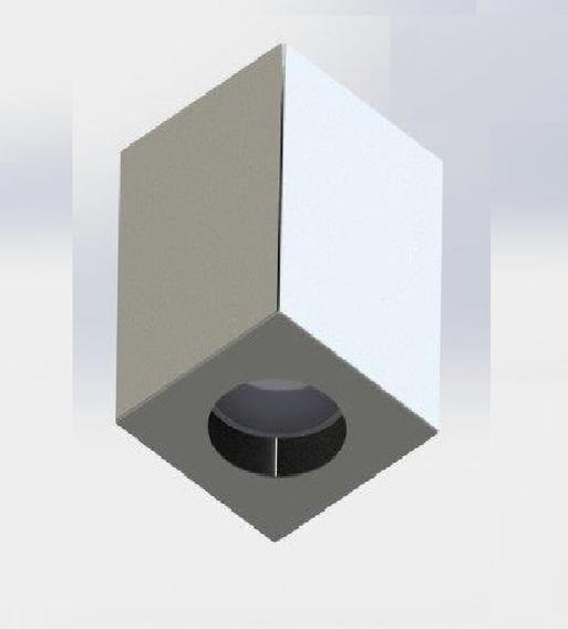 Spot Sobrepor Cubo Branco P/ Led Par20