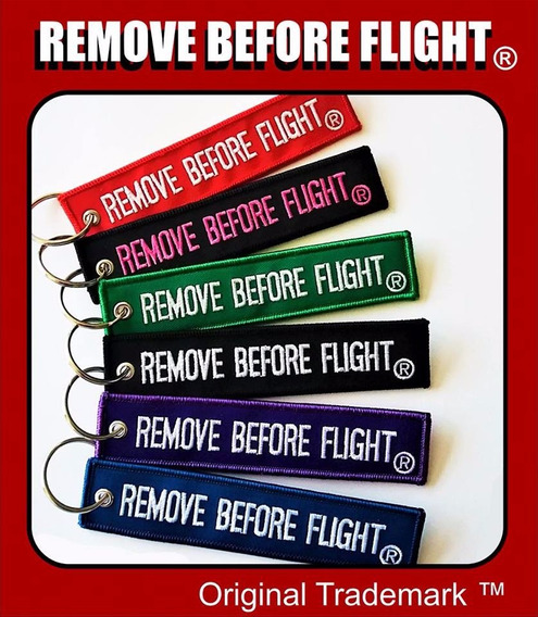 Remove Before Flight ® - Tag Textil Varios Colores