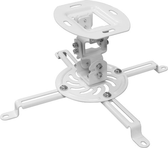 Suporte Projetor Universal Regulável Teto Pro100 Branco Elg
