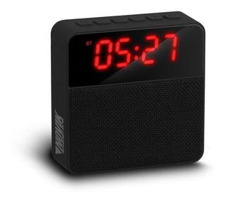 Parlante Portátil Con Radio/reloj Novik Chronos Center Hogar