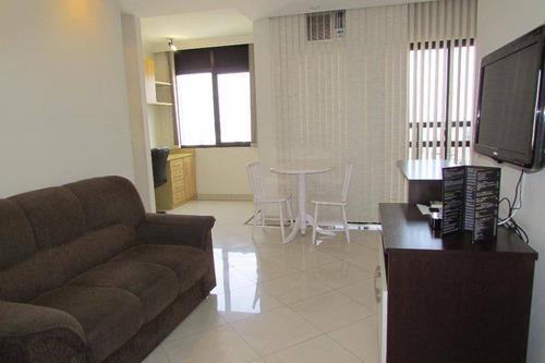 Flat Com 1 Dormitório Para Alugar, 40 M² Por R$ 2.039,00/mês - Campo Belo - São Paulo/sp - Fl0009