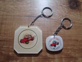 Chaveiros Antigos Buggy Petry Auto Radio Anos 70 - Coleção