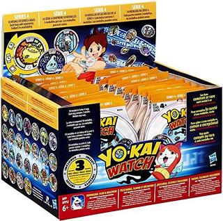Yo-kai Watch Series 4 Estuche Sellado 24 Paquetes 72 Medalla