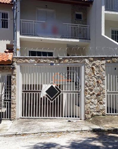 Sobrado À Venda, 180 M² Por R$ 455.500,00 - Vila Taquari - São Paulo/sp - So0039