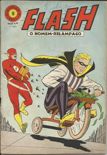 Hq Flash O Homem Relampago 1968 (1ª Ebal) Nº 9