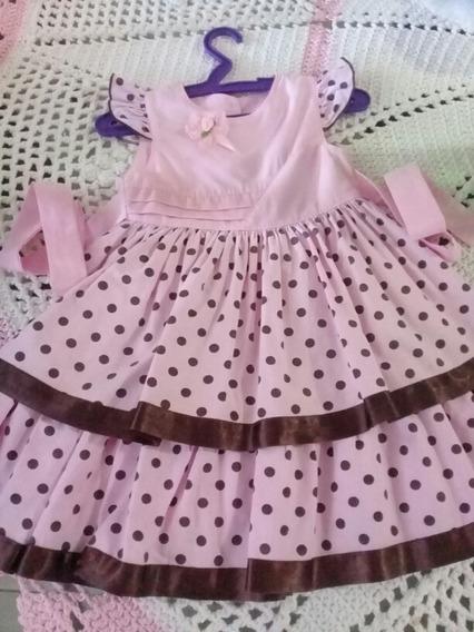 Vestido Bebê Festa Bebê