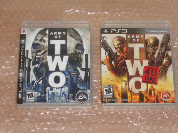 Army Of Two , Army Of Two The 40 Day - Ps3 - Novíssimos