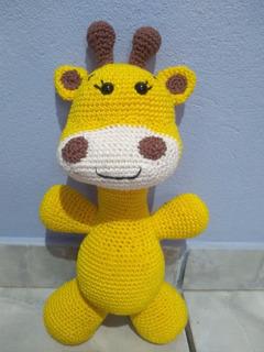 Girafa Lola amigurumi no Elo7   Priti Crochê (119E112)   320x240