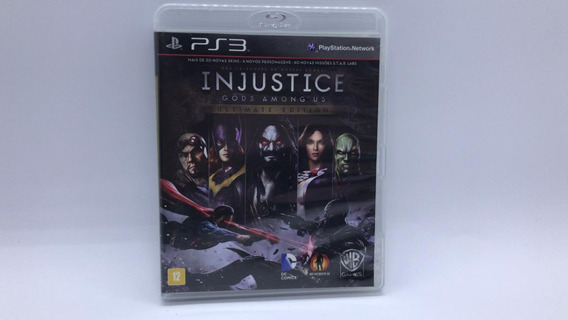 Injustice Gods Among Us Ultimate Edition - Ps3 Cd Original