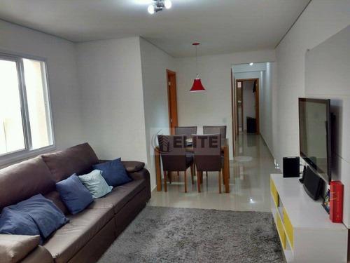 Apartamento Com 3 Dormitórios À Venda, 95 M² Por R$ 430.000,00 - Vila Helena - Santo André/sp - Ap8402