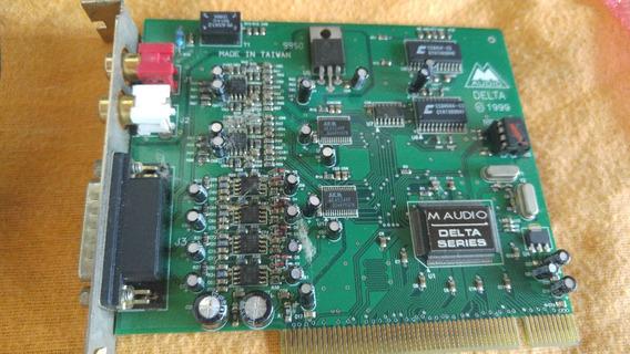 Placa De Som Profissional M-audio Delta 66