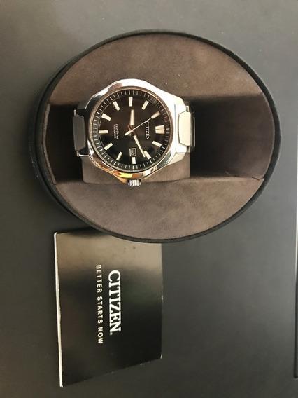 Hermoso Reloj Citizen Ecodrive Titanium, Cristal Zafiro!!