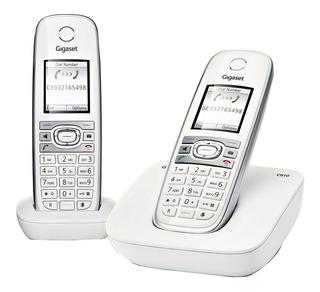 Telefono Inalámbrico Gigaset, Paquete C610 Duo Blanco
