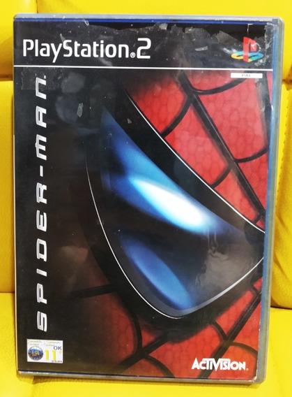 Playstation 2 Ps2 Spider-man Homem Aranha Jogo Original