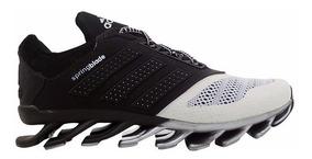 Tênis adidas Springblade Drive Preto E Prata Mod:13723
