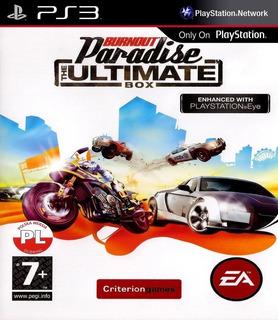 Burnout Paradise Ultimate Edition + 6 Juegos ~ Ps3 Digital