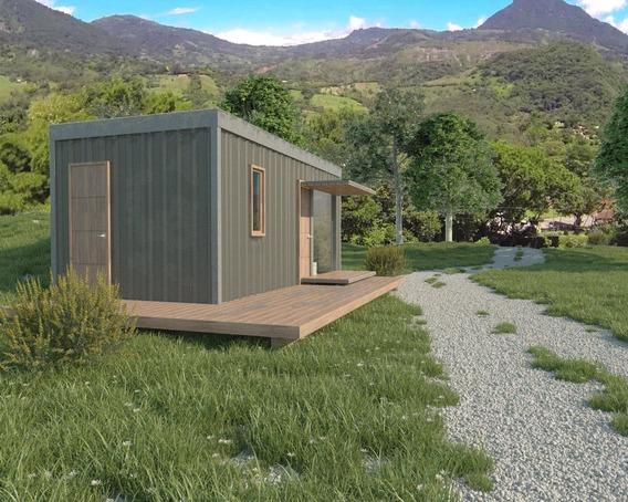 Modulo Habitacional Transportable Tipo Lodge