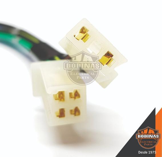Conector Plug Terminal P/ Cdi C/ Fios Turuna 125 83~ Novo