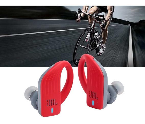 Fone De Ouvido Jbl Endurance Peak Vermelho Red Bt Bluetooth