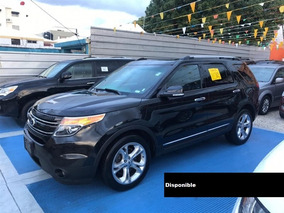 Ford Explorer Limited 15 Negro