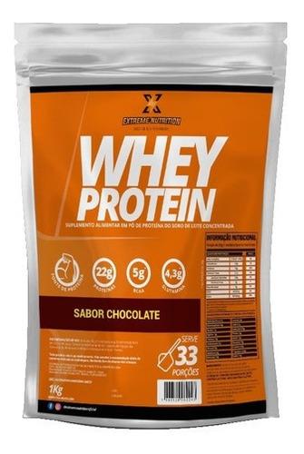Imagem 1 de 5 de Whey Protein Suplemento Alimentar Extreme Nutrition 1kg Nfe