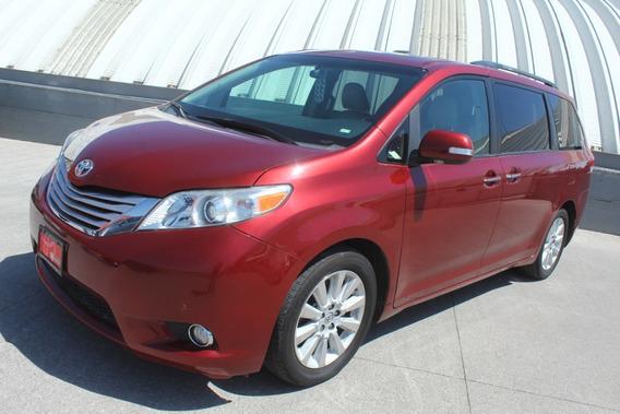 Toyota Sienna 2014 Limited Vino Comonueva 3 Años De Garantia