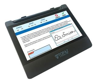 Tableta De Firma Electronica Topaz Td-lbk070va-usb-r Gemview