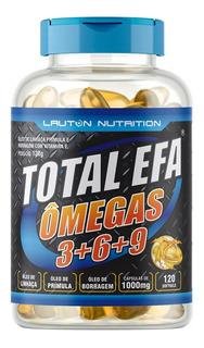 Total Efa Omegas 3, 6, 9 1000mg C/ 1200 Cap Promoção+ Brinde