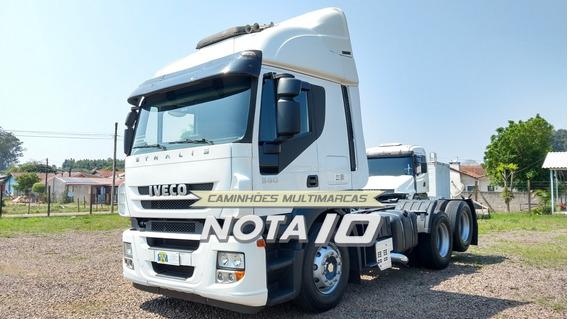 Iveco Stralis Hd 380 6x2 2009 Trucado Teto Alto Completo
