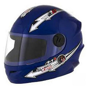Capacete Liberty Four Kids Azul 54