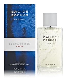 Perfume Hombre Eau De Rochas Homme Edt 100ml