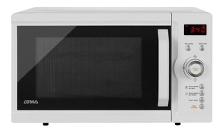 Microondas Atma Md1723g 23 L Digital Grill Blanco