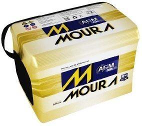 Bateria Moura Star-stop Mf 72 Ld Carros Automáticos
