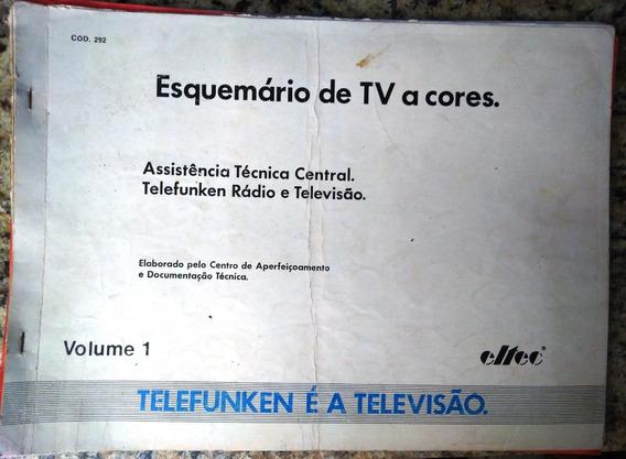 Manual Esquema Elétrico Telefunken Antigo