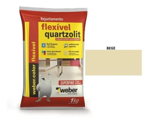 Rejuntamento Bege 1kg Quartzolit
