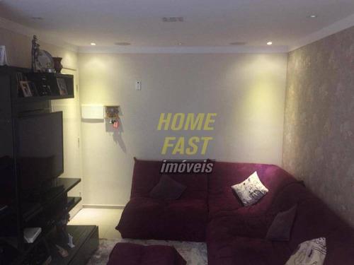 Apartamento Com 1 Dormitório À Venda, 58 M² Por R$ 380.000 - Jardim Flor Da Montanha - Guarulhos/sp - Ap2296