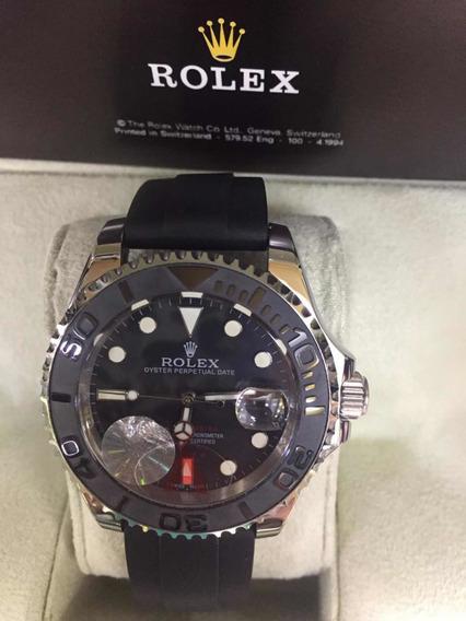 Relógio Masculino Rolex Pulseira Silicone