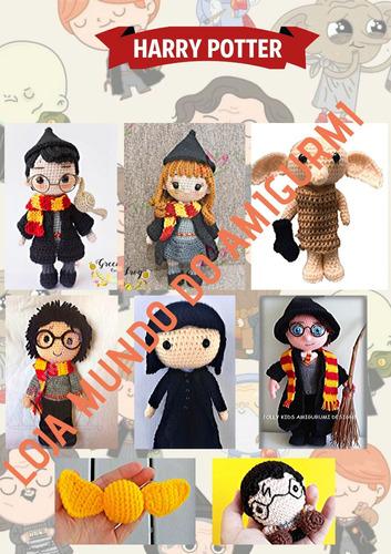 Free Harry Potter Amigurumi Pattern (Crochet) - Daisy and Storm | 500x353