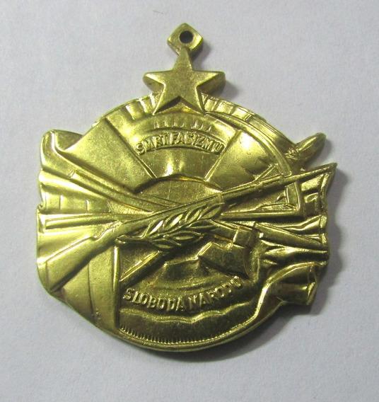 Yugoslavia 1945 Medalla Orden Al Merito Al Valor 2 Guerra M
