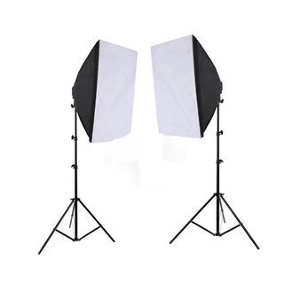 Kit Softbox 1600w Estudio Iluminacion Foto Y Video