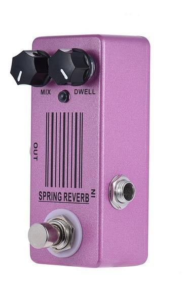 Mosky Mp-51 Primavera Reverb Mini nico Efeito Guitarra