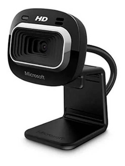 Webcam Hd-3000 Usb Preta Microsoft - T3h00011