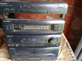 Micro System Panasonic Sa-ch72 (com Defeito Para Tirar Peças