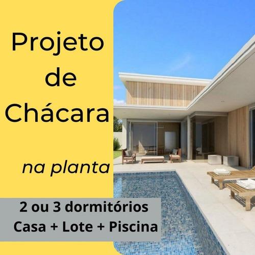 Imagem 1 de 6 de Chácaras Prontas Para Moradia/lazer