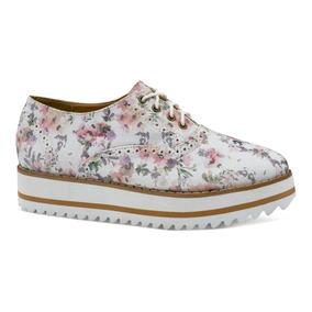 Gosh Zapatos Tenis Casual Piso Estampado Flores 0378811