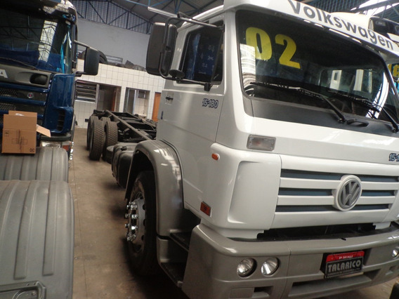 Caminhão Vw 15.180 Truck 2002/02 Branco Chassis